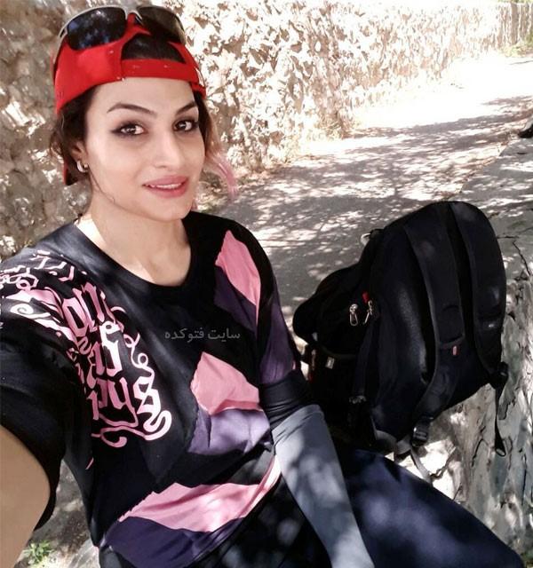 عکس های صدف خادم بدون حجاب در مسابقات بوکس