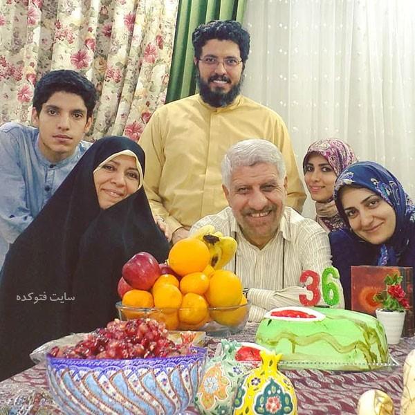 صادق آهنگران و همسرش + داستان زندگی