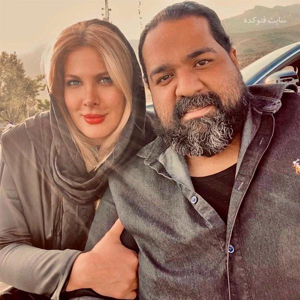 عکس بیوگرافی رضا صادقی Reza Sadeghi و همسر آلمانی اش