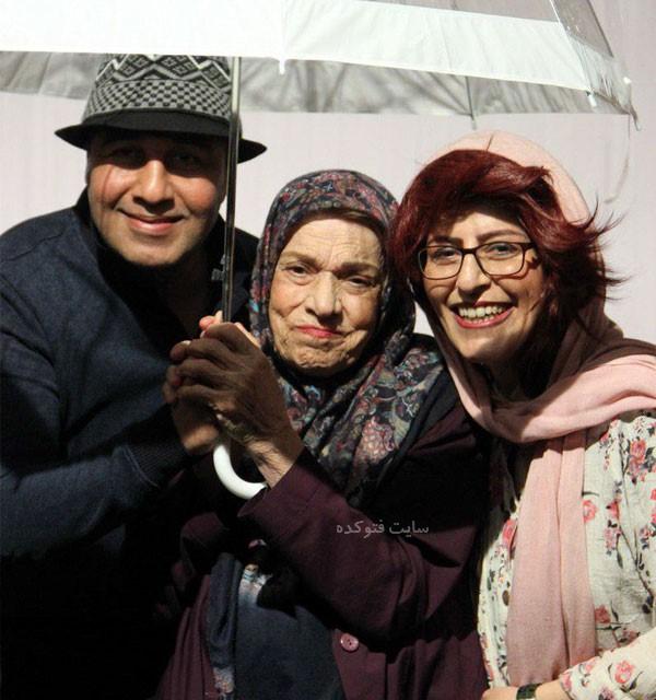 صدیقه کیانفر و همسرش + بیوگرافی کامل