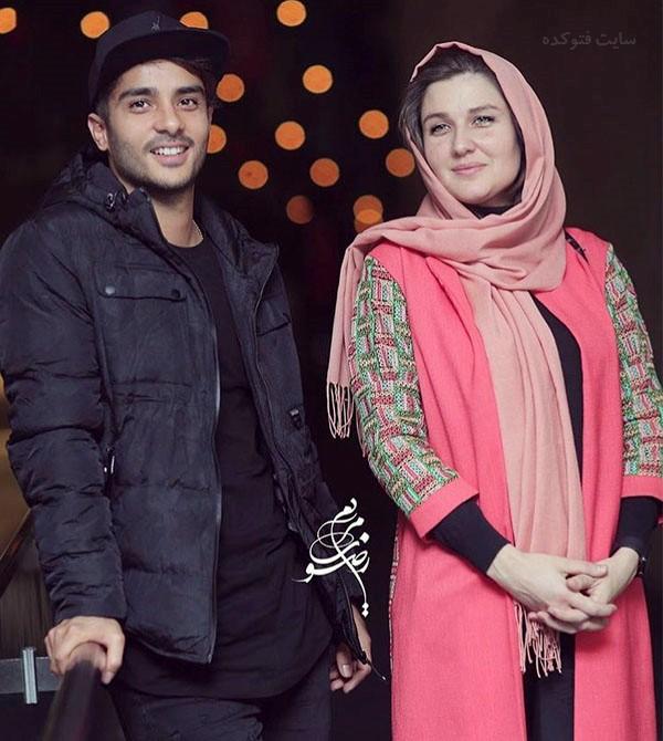 عکس ساعد سهیلی و همسرش + بیوگرافی کامل