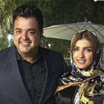 سعید عرب و همسرش نیلوفر + بیوگرافی