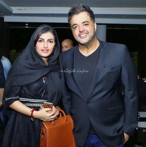 سعید عرب و همسرش نیلوفر عرب