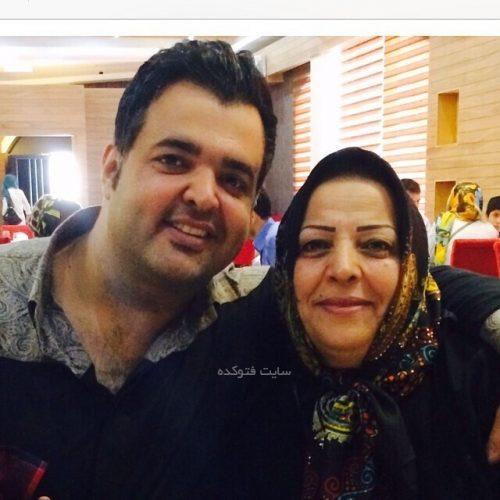 سعید عرب و مادرش