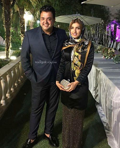 سعید عرب و همسرش نیلوفر