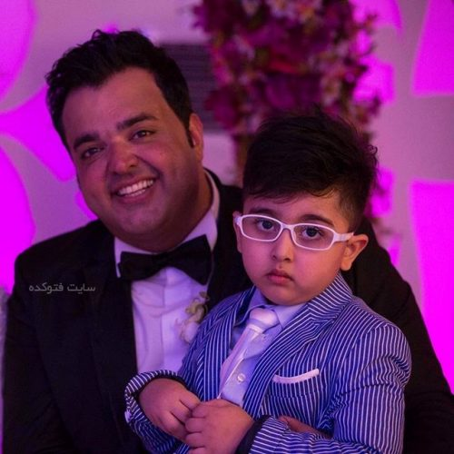 سعید عرب  و پسرش کوشان