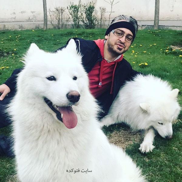 saeed rezaei و سگ هایش