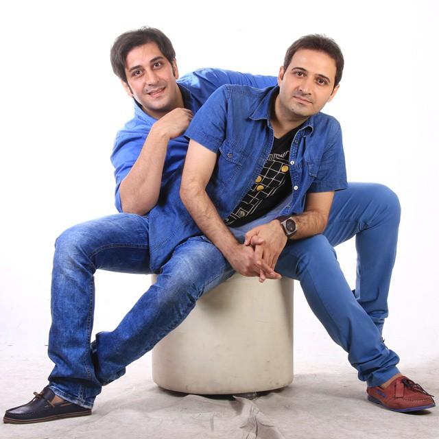 عکس سعید شیخ زاده و برادرش وحید شیخ ازده