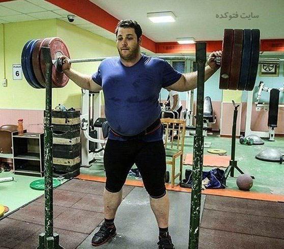 عکس و بیوگرافی سعید علی حسینی وزنه بردار