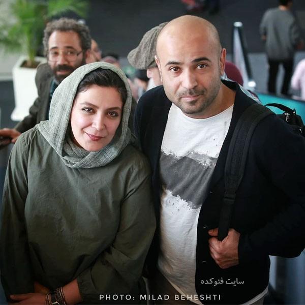 عکس های سعید چنگیزیان و همسرش الهام کردا + بیوگرافی