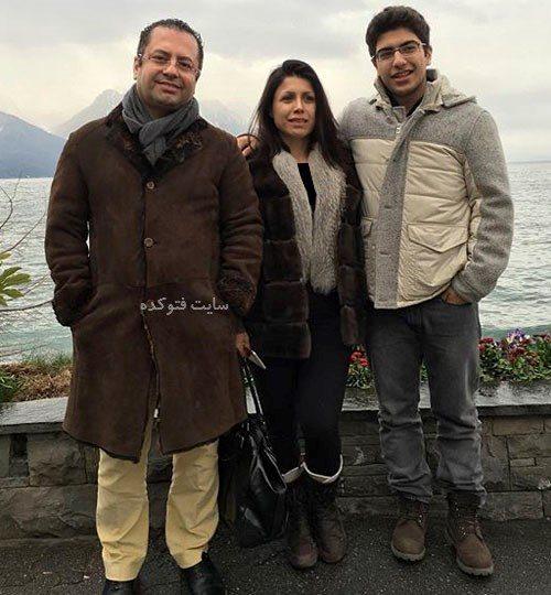 عکس همسر سعید کریمیان و پسرش + بیوگرافی