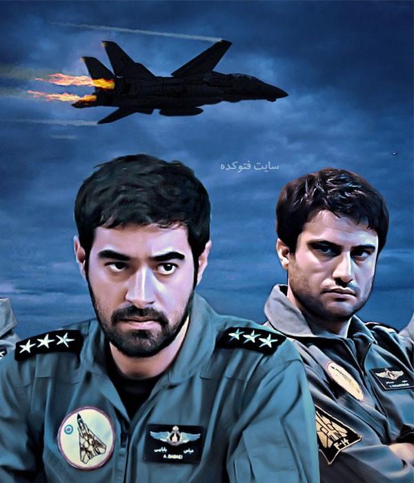 سعید خجسته فر و عباس بابایی در سریال شوق پرواز