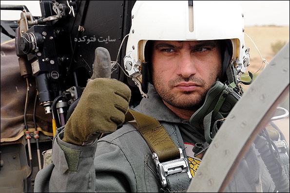عکس های سعید خجسته فر خلبان
