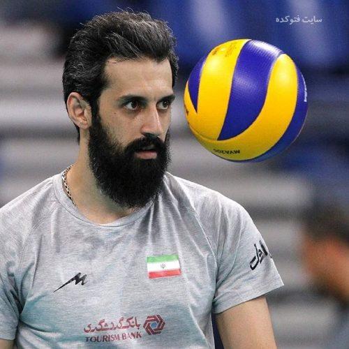 عکس سعید معروف والیبالیست + زندگی شخصی