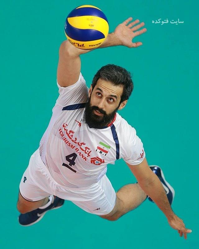 عکس سعید معروف بازیکن والیبال + زندگی خصوصی و خانوادگی