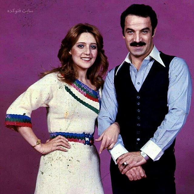 عکس سعید راد و همسرش نوش آفرین