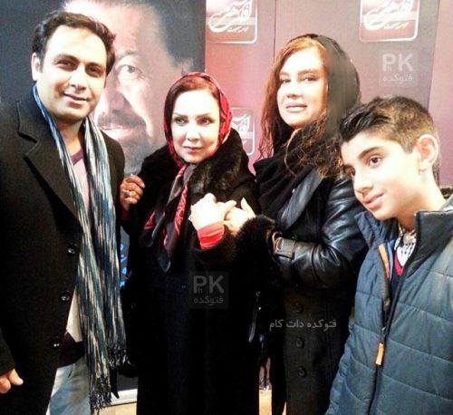 عکس همسر سعید شهروز , زن سعید شهروز , عکس خانوادگی سعید شهروز