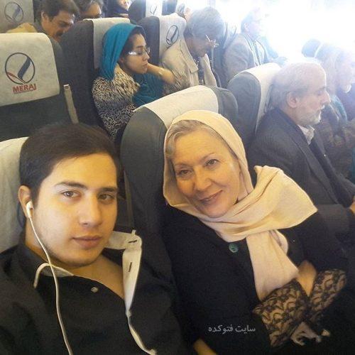 عکس صفا آقاجانی و پسرش + زندگینامه کامل هنری