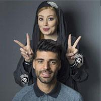 ازدواج مهدی طارمی و سحر قریشی + فیلم و عکس جدید