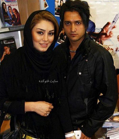 عکس سحر قریشی و همسر سابقش مهران اخوان ذاکر + بیوگرافی