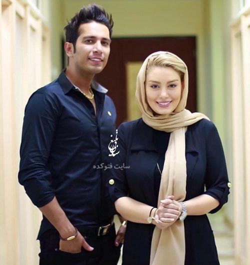 عکس سحر قریشی و همسرش امید علومی + بیوگرفی
