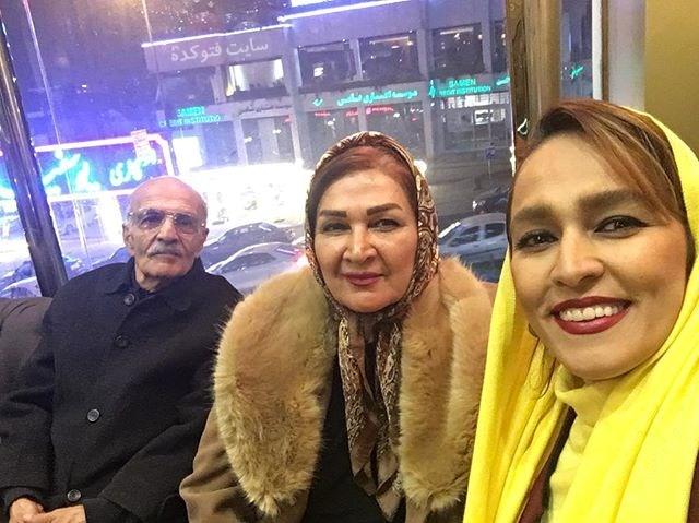 عکس سحر صباغ سرشت در کنار پدر و مادرش + بیوگرافی