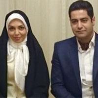 عکس جدید آزاده نامداری و همسرش