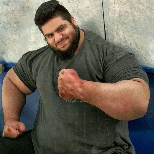بیوگرافی سجاد غریبی,عکس سجاد غریبی,زندگی سجاد غریبی معروف به هالک ایرانی,سال تولد سجاد غریبی معروف به غول داعش,هرکول ایرانی سجاد غریبی,مصاحبه سجاد غریبی