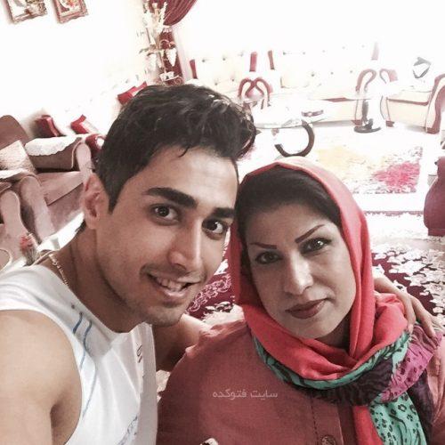 عکس سجاد مردانی و مادرش