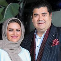 سالار عقیلی و همسرش + زندگی و بیمه حنجره