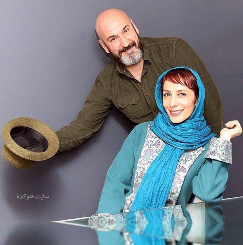 عکس صالح میرزا آقایی و همسرش هنگامه طالبیان + بیوگرافی کامل