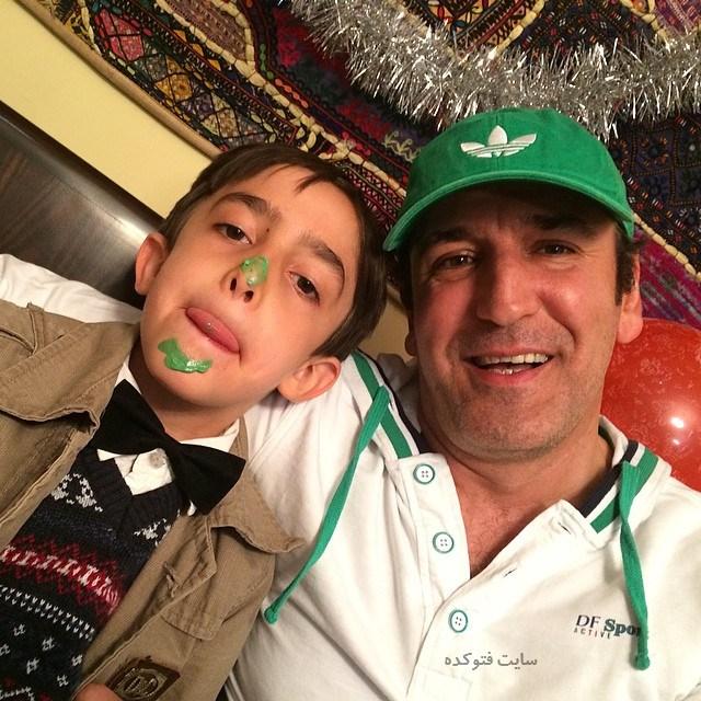 عکس صالح میرزا آقایی و پسرش + زندگینامه کامل و شخصی