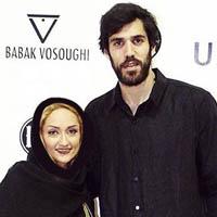 صمد نیکخواه بهرامی و همسرش انسیه خرقانیان