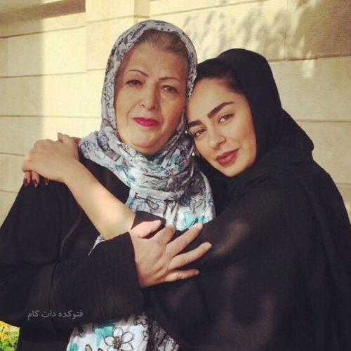 عکس سمانه پاکدل و مادرش , مادر سمانه پاکدل