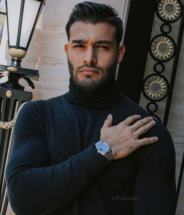 سام اصغری مدل ایرانی کیست + بیوگرافی کامل