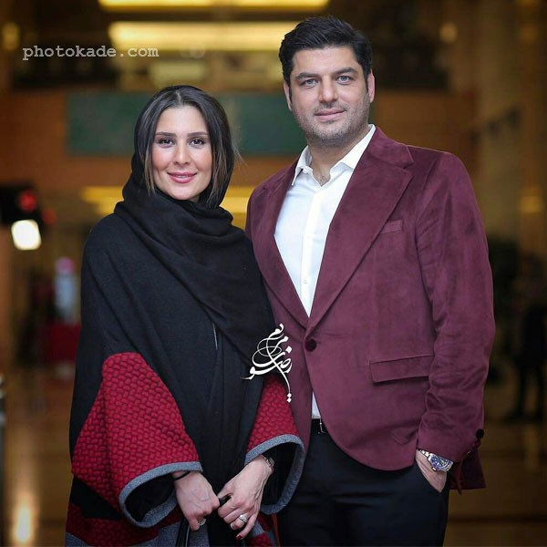 عکس عسل امیرپور همسر سام درخشانی