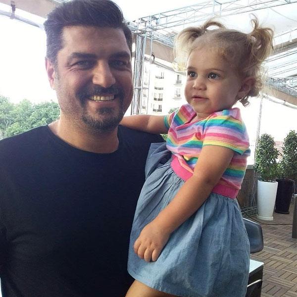 عکس جدید سام درخشانی و دخترش برکه