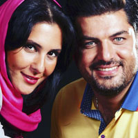 بیوگرافی سام درخشانی و همسرش عسل امیرپور + دخترش