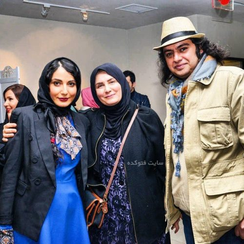 عکس سمیرا حسن پور و همسرش سامان سالور