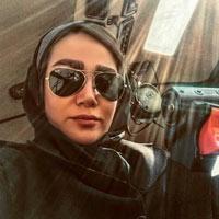 بیوگرافی سمیرا شبانی دهکردی خلبان هلیکوپتر + داستان زندگی