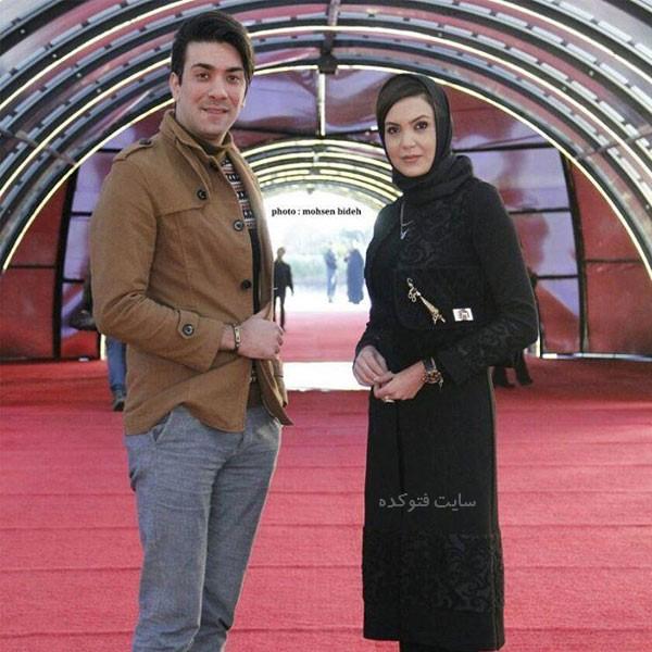 سامیه لک و همسرش + داستان زندگی شخصی