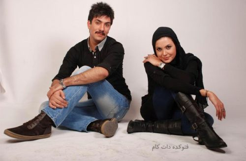 عکس سامیه لک و همسرش