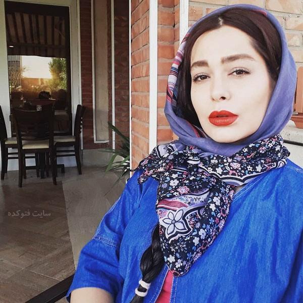 بیوگرافی سانیا سالاری بازیگر سریال دلدادگان + عکس