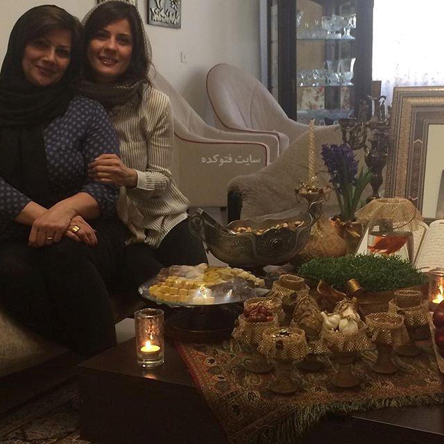 عکس سارا بهرامی و مادرش + بیوگرافی