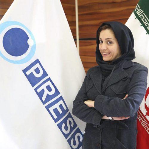 عکس لو رفته از محمد سرافراز و شهرزاد میرقلی خانی