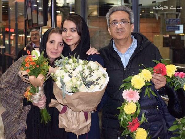عکس خانوادگی سارا خادم الشریعه + زندگینامه