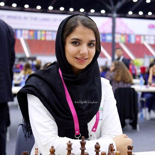 عکس های سارا خادم الشریعه استاد بزرگ شطرنج جهان