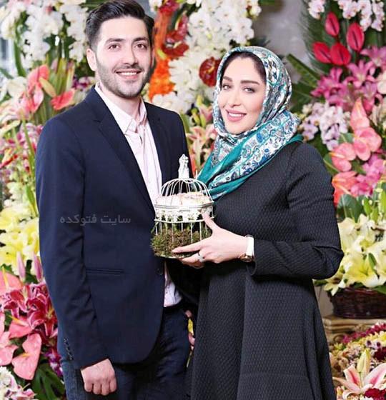 عکس سارا منجزی و برادرش علی