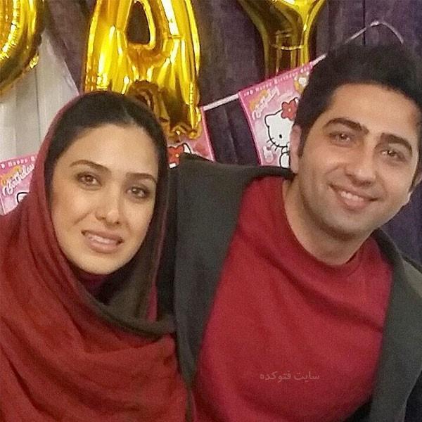 سارا نجفی و همسرش علی سخنگو + بیوگرافی کامل