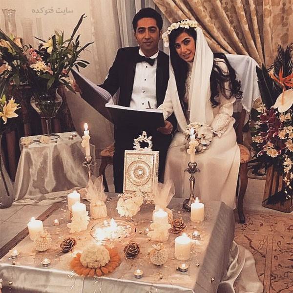علی سخنگو و همسرش سارا نجفی + بیوگرافی